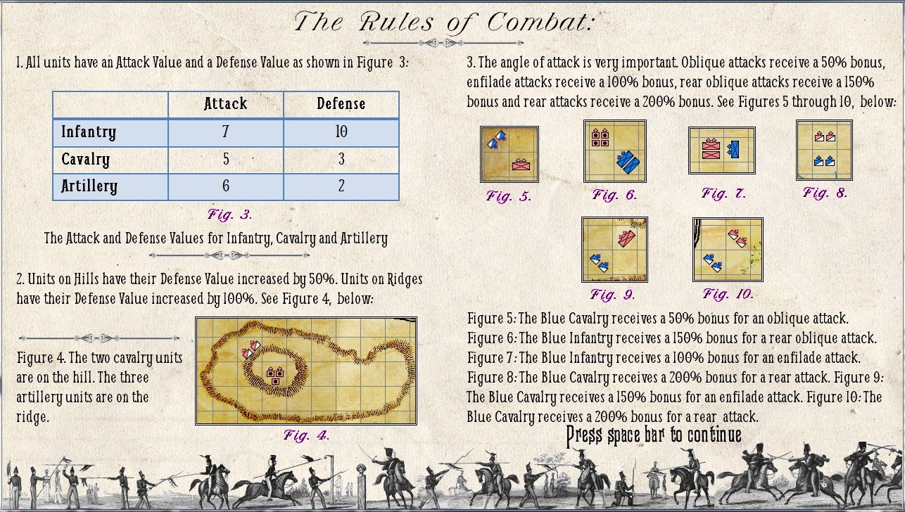 The Combat Rules for General Staff.